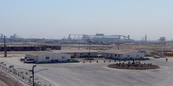 پروژه ی تجهیز کارگاه گندله سازی فولاد کاوه جنوب کیش