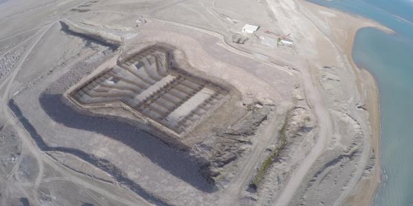 Partial execution of civil works and landscaping of BandarAbbas desalination (Saghi Kosar plan)